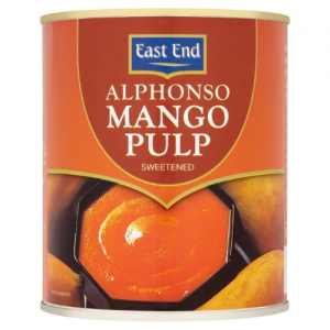 EAST END ALPHONSO MANGO PULPA 850G