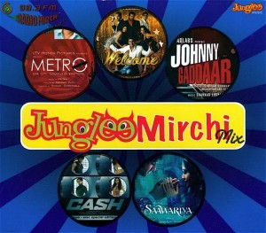 JUNGLEE MIRCHI MIX CD