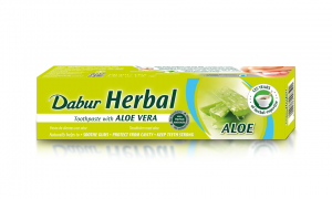 DABUR HERBAL - PASTA DO ZĘBÓW Z ALOESEM